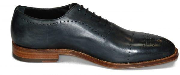 Handmade Italian Men's Dress Shoes. Silver Oxford. Matelica. Code SO 139