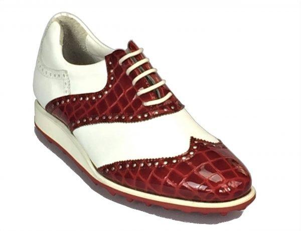 Handmade Italian Shoes Golf - Spikeless - St Andrews- code SG 2038