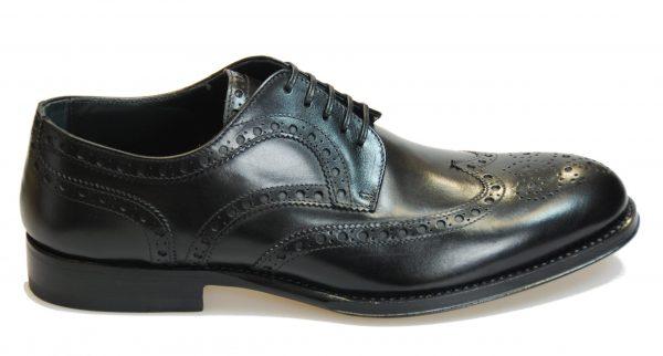 Handmade Italian Men's Dress Shoes. Silver Derby. Belvedere. Code SN 081
