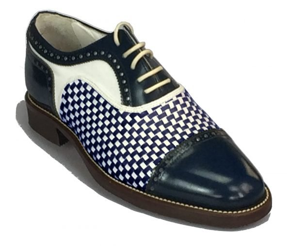 Handmade Italian Shoes Golf - Spikes - Morfontaine - code SG 2875