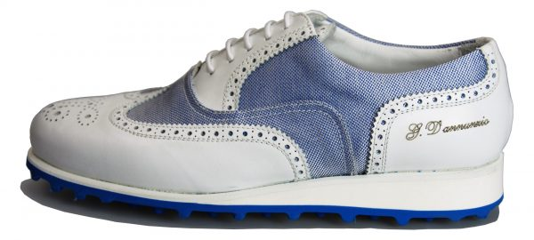 Handmade Italian Shoes Golf - Spikeless - Winged- code SG 2024